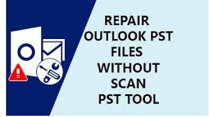PST REPAIR WITHOUT SCANPST