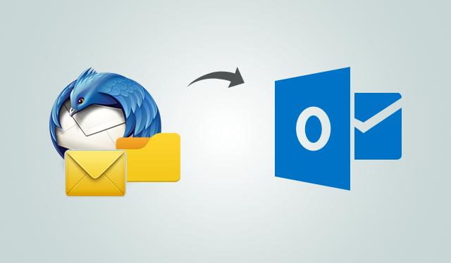 Importing Thunderbird Emails into Outlook 2016, 2013, 2010 from User