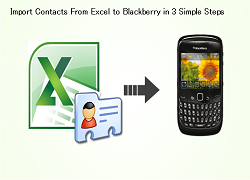 How to Import Contacts From Excel to Blackberry in 3 Simple
