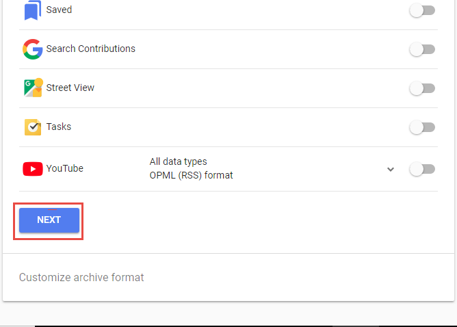 Click Next option