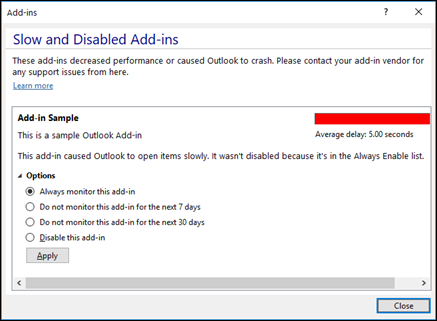How to Fix Outlook Detected an Add-in Problem in Windows OS?