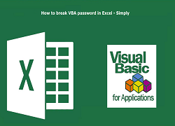 How to break VBA password in Excel 2016 / 2013 / 2010 / 2007