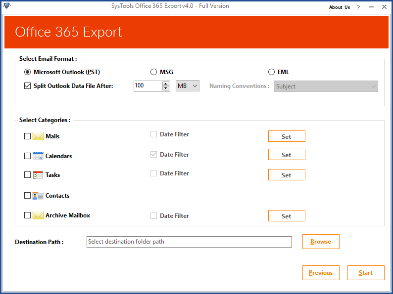 Export Office 365 Mailboxes to PST Online Securely - How to Guide