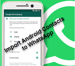How to Import Android Contacts to Whatsapp - Step By Step Guide