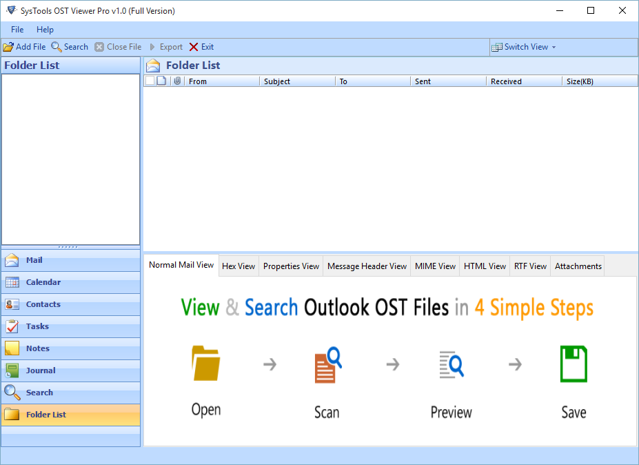How To Open OST File Without Exchange Server 2019, 2016, 2013