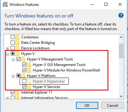 Fixed - Hyper-v Encountered An Error While Configuring The