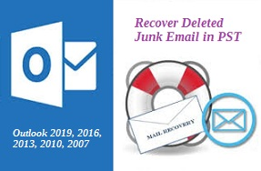 how to recover deleted junk mail in outlook