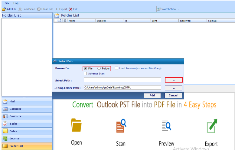 How to Save Outlook Calendar as PDF Document? - 2 Quick Methods