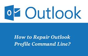 Repair Outlook profile Command Line Errors