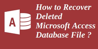 recover access database