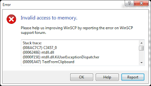 "Getting ""Invalid Access to Memory Location"" Error? Let's Fix It"