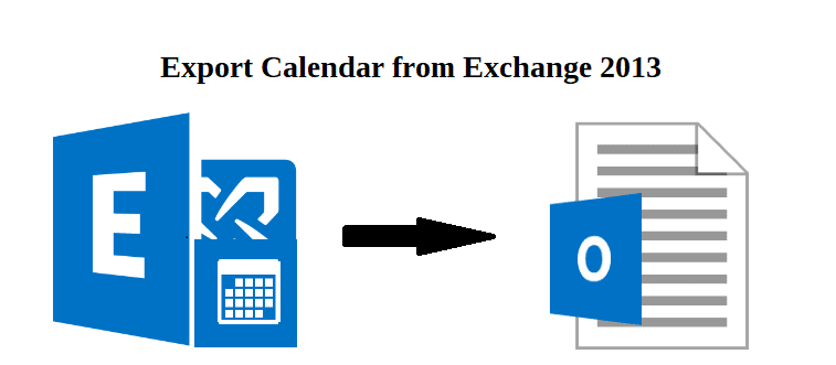 export calendar from exchange 2013 to pst file