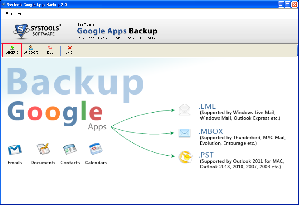 Google Apps Backup Solution