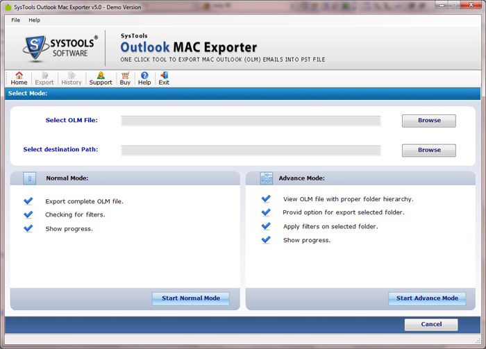 Procedure of Mac to Outlook Convert Email
