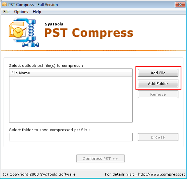 how to read pst files