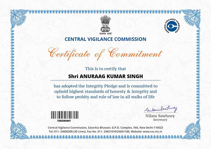 Central Vigilance Commission of India