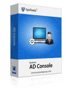 SysTools AD Console Box