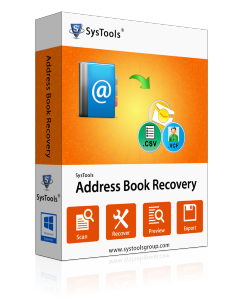 address book recovery