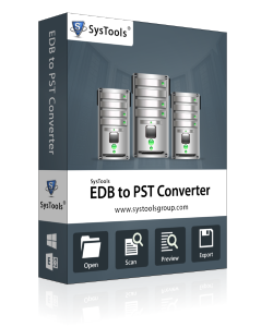 EDB to outlook PST Converter box