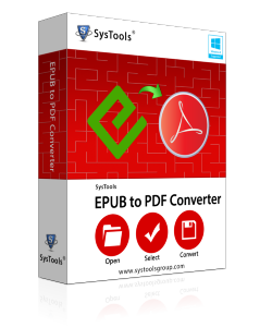 Epub files to PDF Converter Box