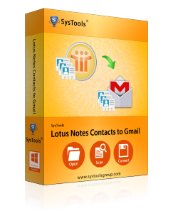 lotus note to contact gmail box