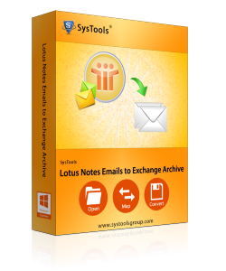lotus note email to exchange archive Box