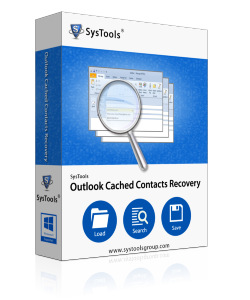 Outlook cached contacts recovery Box