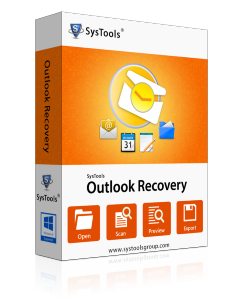 SysTools Outlook Recovery.  Repair Corrupt Outlook PST File
