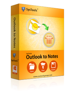 outlook to notes box