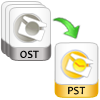 convert batch ost files