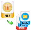 convert nsf to msg or eml