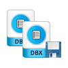 copy dbx files and save