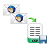copy and save emails as csv