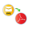 open DXL file & save