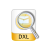open and read DXL file