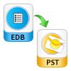 Convert Exchange EDB to PST