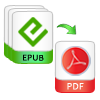 convert multiple epub files to pdf