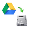 Google Drive Storage to Another Drive