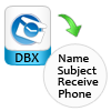 list dbx files with attibutes