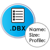 preview list of dbx files