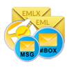 transfer hotmail emails to external hard drive
