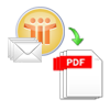 convert notes emails to pdf