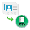save contacts as csv file
