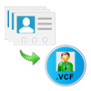 save contacts as vcard