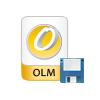 save scanned olm file