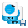 save recovered odt files