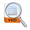 search with vhd file