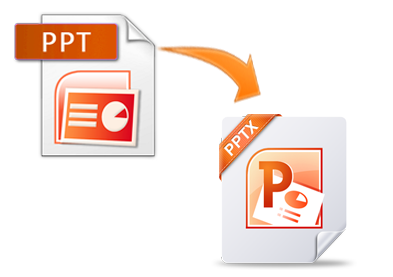 how to change ppt file to pptx
