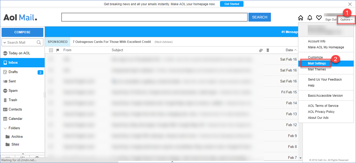 Change to Unified Inbox Style