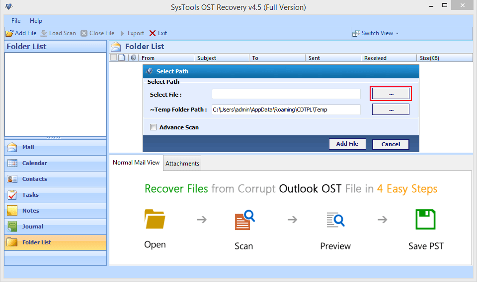 OST file to PST Converter